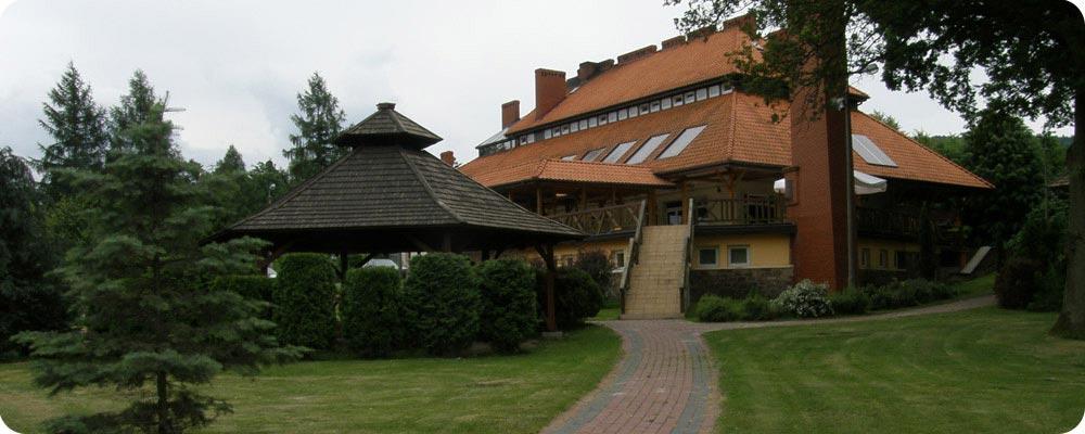 Zajazd Baba Jaga widok Główny